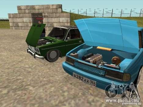 Moskvich 2141 for GTA San Andreas interior
