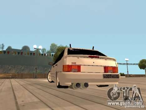ВАЗ 2114 BEAST for GTA San Andreas right view
