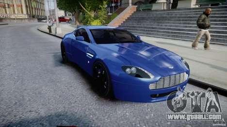 Aston Martin V8 Vantage V1.0 for GTA 4 back view