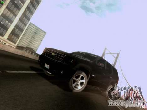 Chevrolet Tahoe 2009 Unmarked for GTA San Andreas