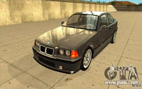 BMW E36 M3 - Stock for GTA San Andreas