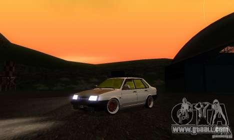 VAZ 21099 Rat Look for GTA San Andreas