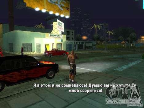 Killer Mod for GTA San Andreas ninth screenshot
