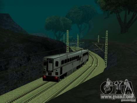 High speed RAILWAY line for GTA San Andreas fifth screenshot