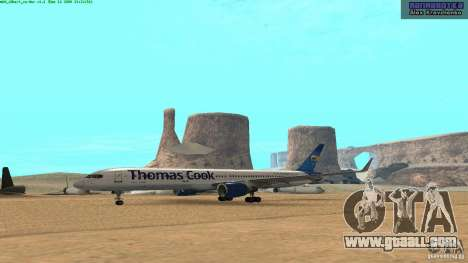 Boeing 757-200 Final Version for GTA San Andreas