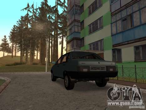 VAZ 21099 CR v. 2 for GTA San Andreas back left view