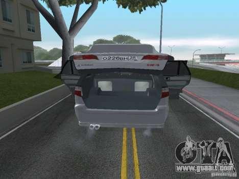 Mitsubishi Legnum for GTA San Andreas back view
