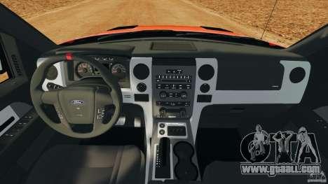 Ford F-150 SVT Raptor for GTA 4 back view