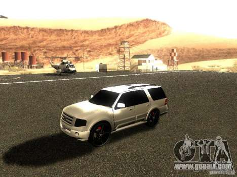 Ford Expedition 2008 for GTA San Andreas