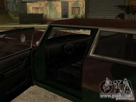 OceanicShit for GTA San Andreas inner view