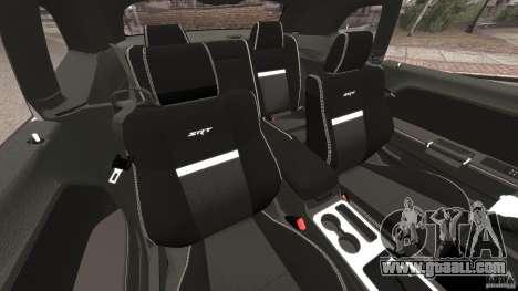 Dodge Challenger SRT8 392 2012 Police [ELS][EPM] for GTA 4 inner view