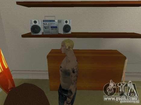 Skin Eminema for GTA San Andreas fifth screenshot
