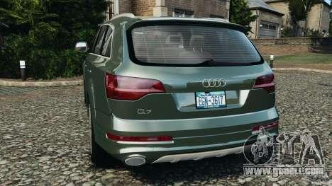 Audi Q7 V12 TDI v1.1 for GTA 4 back left view
