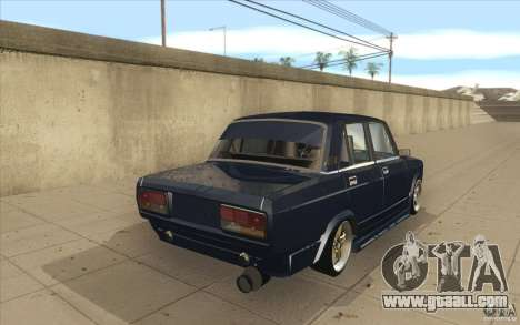 Vaz-2107 Lada Street Drift Tuned for GTA San Andreas side view