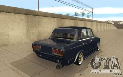 Vaz-2107 Lada Street Drift Tuned for GTA San Andreas side view