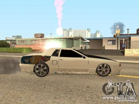 Elegy by Foresto_O for GTA San Andreas back left view