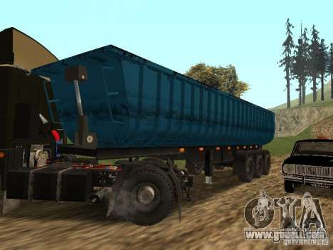 Semi-trailer Tonar 95234 for GTA San Andreas