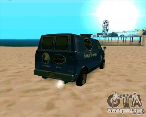 BUGSTARS Burrito from GTA IV for GTA San Andreas back left view