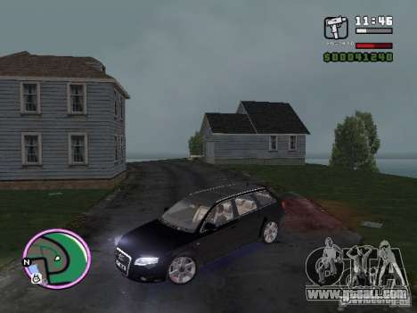Audi A4 avant 3.2 QUATTRO for GTA Vice City back left view