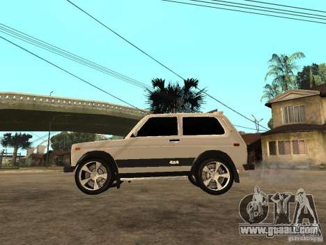 VAZ Niva 21213 Light Tuning for GTA San Andreas left view