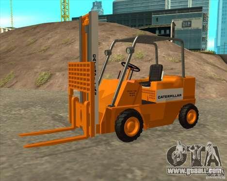Caterpillar Torocat for GTA San Andreas