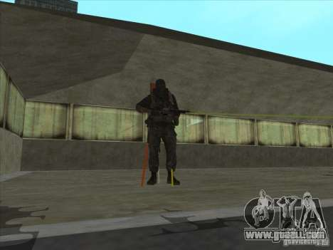 Weapon with laser for GTA San Andreas second screenshot