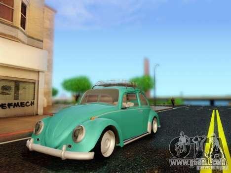 Volkswagen Beetle 1300 for GTA San Andreas