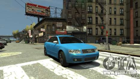 Audi S4 2000 for GTA 4 side view
