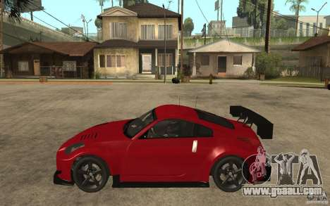 Nissan 350Z Supreme for GTA San Andreas left view