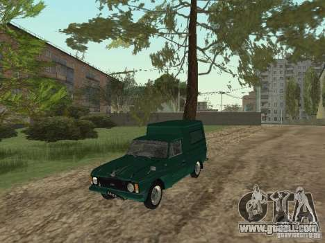 IZH 2715 for GTA San Andreas side view