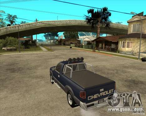 1996 Chevrolet Blazer pickup for GTA San Andreas