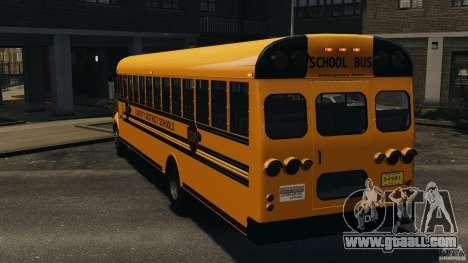 School Bus v1.5 for GTA 4 back left view
