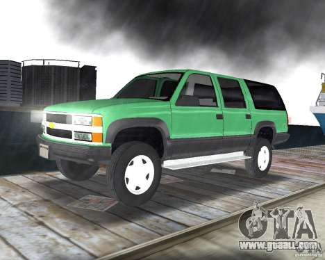 Chevrolet Suburban 1996 for GTA Vice City