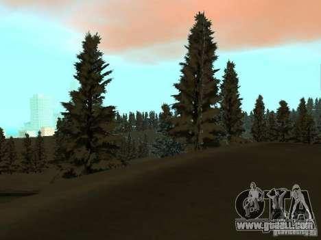 Winter Trail for GTA San Andreas seventh screenshot