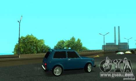 VAZ 21213 NIVA FBI for GTA San Andreas left view