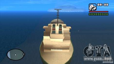 Ships for GTA San Andreas second screenshot