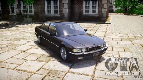 BMW 740i (E38) style 37 for GTA 4