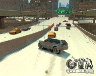 Freezing Rain for GTA 4 second screenshot