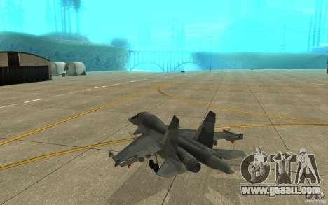 The Su-34 for GTA San Andreas right view