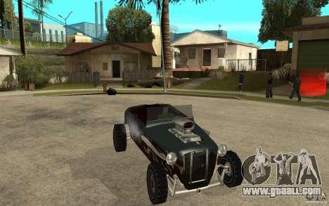 Deuce Brutal Legend for GTA San Andreas back view