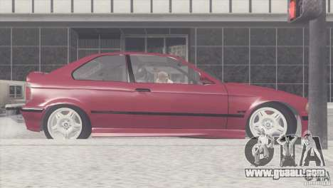 BMW e36 M3 Compact for GTA San Andreas left view
