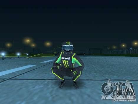 Falken Monster Energy PED for GTA San Andreas