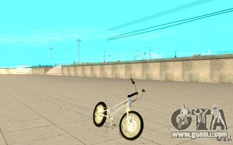 Trail Bike Chrome for GTA San Andreas