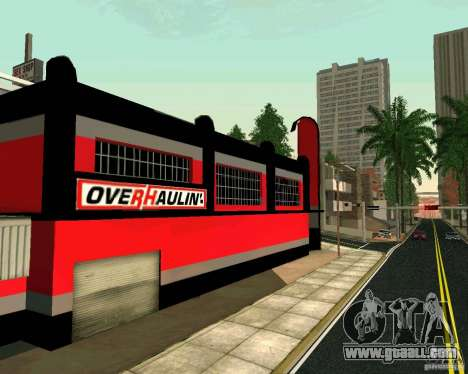 OVERHAULIN Workshop for GTA San Andreas