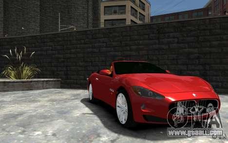 Maserati GranCabrio for GTA 4 back view