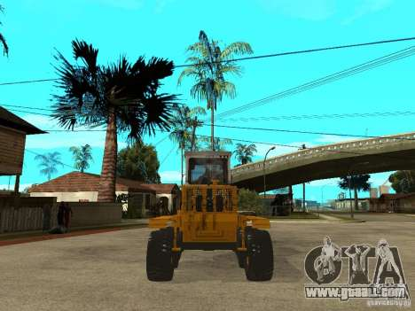 Grader for GTA San Andreas back left view