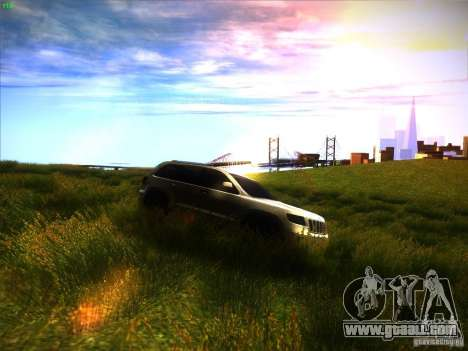 Jeep Grand Cherokee 2012 v2.0 for GTA San Andreas back view