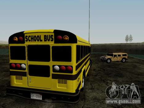 International Harvester B-Series 1959 School Bus for GTA San Andreas right view