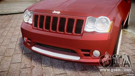 Jeep Grand Cherokee for GTA 4 side view