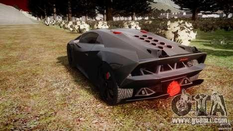 Lamborghini Sesto Elemento 2011 for GTA 4 side view